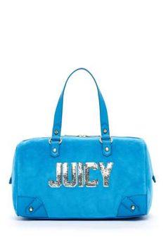 Juicy Couture Juicy Block Velour Steffy Bag