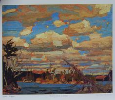 Ragged Lake.  Tom Thomson.