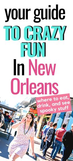 Tips on the best things to do in New Orleans! Your travel guide for hotels, restaurants, the French Quarter, jazz, and Voodoo. Visit New Orleans, New Orleans Travel, Travel Usa, Travel Tips, Travel Guides, Traveling With Baby, Traveling By Yourself, United States Travel, French Quarter