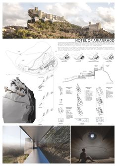 YAC is a association whose aim is to promote architectural competitions amongst young designers – no matter if graduates or students. Concept Models Architecture, Landscape Architecture, Interior Architecture, Interior Design, Desert Resort, Grid Layouts, Collage Illustration, Architecture Visualization, Competition