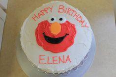 Elmo Birthday Cake - Simple