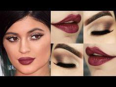 Kylie Jenner Makeup Tutorial com Kiss NY + RK by Kiss NY