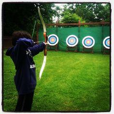 Archery at Tyler Place #vermont #archery
