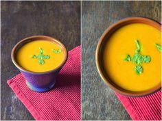 Marocká mrkvová polévka Raw Vegan, Tableware, Soups, Food, Dinnerware, Tablewares, Essen, Soup, Meals
