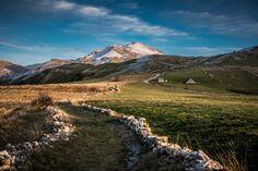 Sunset on the mountain Visočica by Ermin Okeric
