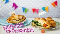 Lasten Kokkikorneri esittää: Täytetyt croissantit | K-ruoka #lastenkutsut #lapsetkokkaa