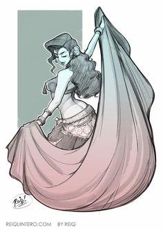 Reinaldo Quintero's Art Character Sketc / Drawing Illustration Inspiration