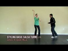 Salsa Styling for Basic Salsa Turns