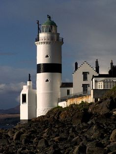 Cloch Lighthouse, Scotland #Lighthouse #lighthouses