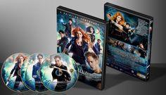 Shadowhunters (The Mortal Instruments) - Primeira Temporada - Capa | VITRINE - Galeria De Capas - Designer Covers Custom | Capas & Labels Customizados