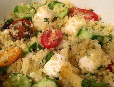 Невыразимая легкость кулинарного бытия...: Салат из кускуса с овощами
