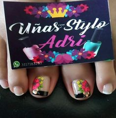 Cute Toenail Designs, Toe Nail Designs, Short Nail Manicure, Short Nails, Spirit Finger, Toe Nails, Pedicure, Nail Art, Toenails