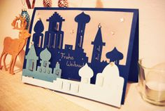 DIY: Advent Calendar - PopUp-Style - how pretty is this?! <3 (from Rotkehlchen)