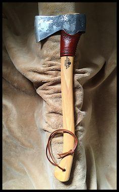 Gransfors Bruks Small Forest Axe w/Custom Leather by John Black