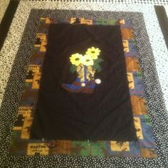 Made this quilt, cowboy boot pattern
