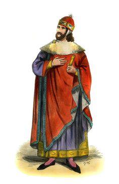 """Doge of Venice - costume of 13th century"""