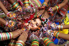 Festival Navratri en la India