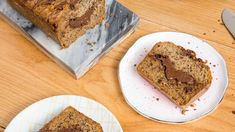 A baked good worth going bananas for 🍌  Save the recipe for Nutella-Stuffed Banana Bread 👍