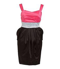 Ruby Rox 7-16 Sequin Waistband Dress | Dillards.com