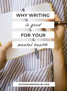 Writing | Mental Health | Journalling | Millennials