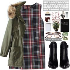 A fashion look from October 2014 featuring MANGO dresses and Alexander Wang ankle booties. Browse and shop related looks.