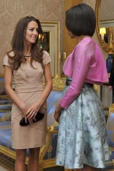 Kate Middleton's Style Evolution May 2011 in Reiss dress and Anya Hindmarch