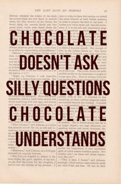 Your Friend Chocolate