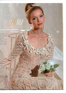 crochet wedding dress (could also be a stunning evening gown) Crochet Woman, Crochet Lace, Hand Crochet, Evening Gown Pattern, Crochet Wedding Dresses, Irish Crochet Patterns, Wedding Dress Accessories, Irish Lace, Crochet Clothes