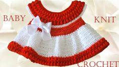Vestido a crochet para Bebe - Learn Crochet Knit
