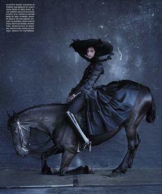Erin O'Connor for Vogue Italia, December 2015 by Tim Walker
