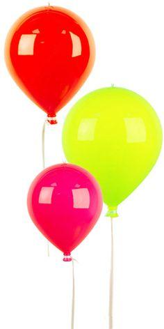 Ballon à suspendre fluo chez Bianca and Family