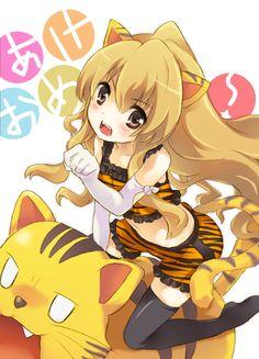 Tags: Anime, Fanart, Toradora!, Aisaka Taiga, Pixiv