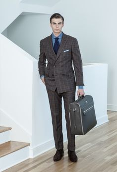 RL Double-Breasted Glen Plaid Suit | Men's Fashion | Pinterest
