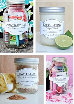 Great gift ideas in a jar | www.classyclutter.net