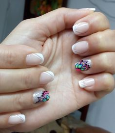 A nice design for these nails Nail Art Designs, Cool Designs, Crazy Nails, Crazy Outfits, New Nail Art, Nail Tutorials, Nail Artist, Lip Makeup, Nail Polish