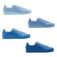 38770ecdcd15c Pharrell Williams x adidas Originals Supercolor blues
