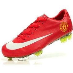 http://www.asneakers4u.com Sale Nike Mercurial Vapor VII Superfly III FG Soccer Cleats 2012 Soccer Cleats Red White Manchester United