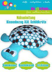 Kissenbezug XXL Schildkröte