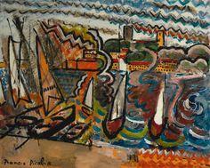 Francis Picabia (1879 - 1953) Le Port, circa 1924-25