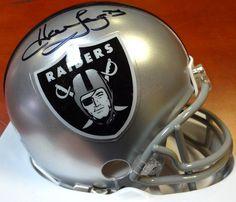 e9e9b1405f9 Howie Long Autographed Oakland Raiders Mini Helmet PSA DNA