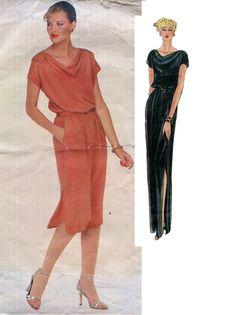 Vintage 1970s Diane Von Furstenburg  Vogue by DesignRewindFashions, $20.00