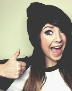 "My faveriote youtuber! Zoella! Subscribe to her on YouTube!! Just search ""zoella"" thanks!!"