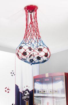 Champion voetbal hanglamp