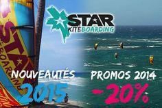 Promos 2014 et nouveautés 2015 Starkiteboarding   | Glissevolution – Ecole et cours de kitesurf, location et randonnées en Jet-ski, Flyboard, Ski nautique, wakeboard, Flyfish, Stand up Paddle, voilerie, surf-shop à La Baule / Pornichet – Loire Atlantique