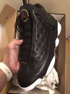 Details about Air Jordan Retro 13 Playoff Sz 10 Black Red He Got Game Flint  Bred Cherry XIII 432d885cd