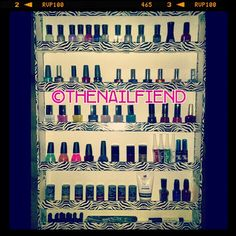 How-to: DIY nail polish shelf