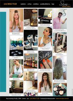 Anúncio Revistas e Email Mkt Sim Beauty Salon