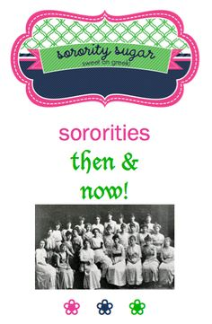 "love panhellenic history? check out over 270+ sorority sugar ""then & now"" posts! <3 BLOG LINK:  http://www.sororitysugar.tumblr.com/tagged/then-and-now"