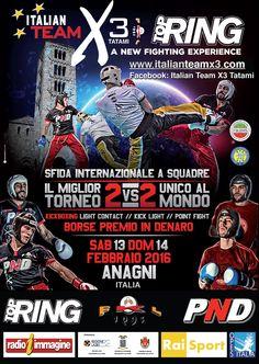 ITALIAN TEAM X3 - Anagni 13 e 14 febbraio 2016
