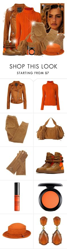 """~ Week-end ~"" by li-lilou ❤ liked on Polyvore featuring Salvatore Ferragamo, Current/Elliott, Gérard Darel, NIKE, NYX, MAC Cosmetics, Hermès and Kenneth Jay Lane"